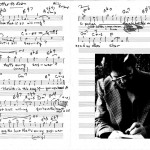 'Letter to Evan' leadsheet by Bill Evans