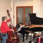 Masterclass 2009 - Joe Fonda, Bruno Angelini, Ramon Lopez (26 janvier 2009)