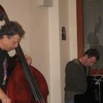 Masterclass (26 janvier 2009) Joe Fonda et Ramon Lopez : Hans Bosma (piano)