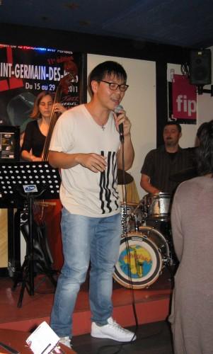 Min Sik Kim, Leïla Renault et Patrick Filleul