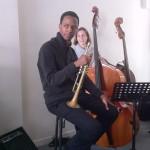 Masterclass 2011 - Jason Palmer, Leïla Renault (contrebasse)