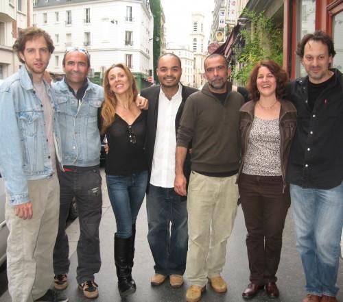 Sylvain Brousse, Lilian Dericq, Mila Lumbroso, Philippe Baden Powell De Aquino, Maurice Coppola, Sara Lazarus et Christophe Dal Sasso