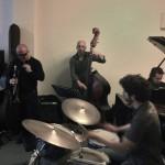 Giovanni Falzone, Bruno Angelini, Mauro Gargano et Julien Augier