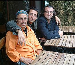 Joe Fonda, Bruno Angelini et Ramon Lopez