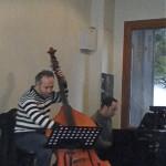 Emmanuel Keller (piano) et Mohamed Ali Ben Gara (contrebasse)