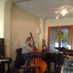 Jam session - Mohamed Ali Ben Gara (contrebasse) et une élève pianiste