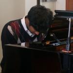 Jam session 2013-2014- Anurag Naidu (élève pianiste)