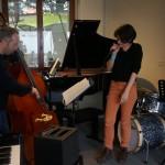 Jam session 2013-2014- Carine Schertzer (élève chanteuse)