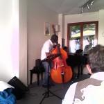Jam session 2014-2015 - Alain N'Diaye (contrebasse)