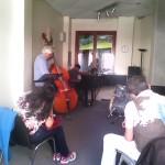Jam session 2014-2015 - Jean-Michel Cuciniello (contrebasse), Anurag Naidu (piano)
