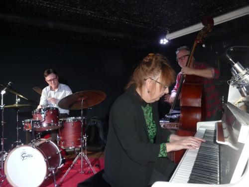 Eileen Sorley, Brad Scott et Thierry Collet