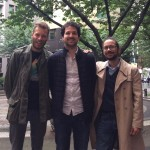 Benoît Martin, Damien Françon et Mathieu Verlot