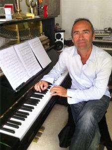 Lilian Dericq, professeur à la Bill Evans Piano Academy