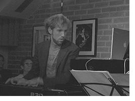 Sylvain Brousse, professeur à la Bill Evans Piano Academy
