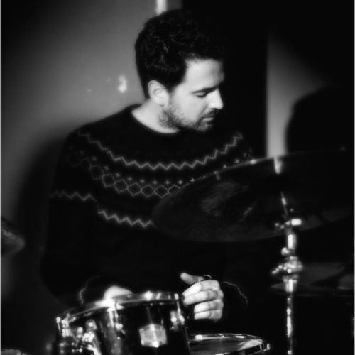 Damien Françon, professeur de batterie
